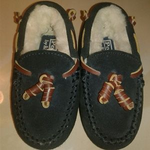 Toddler polo slippers